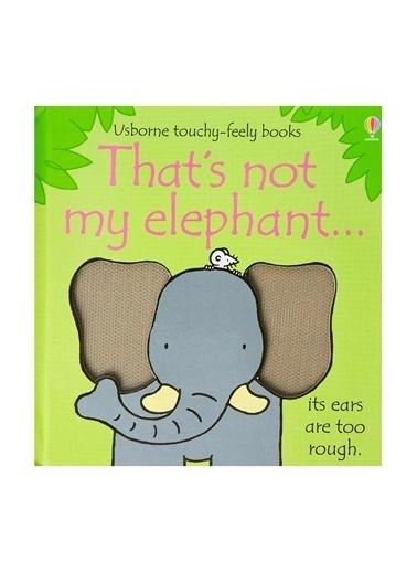 The Usborne The Usborne Thats Not My Elephant Beyaz